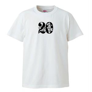 20執念 DOBERMAN Tシャツ(バニラホワイト)