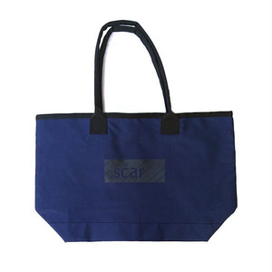 scar /////// BLACKBOX TOTE BAG (Navy)