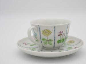 九谷フェスティバル 春の野花 碗皿