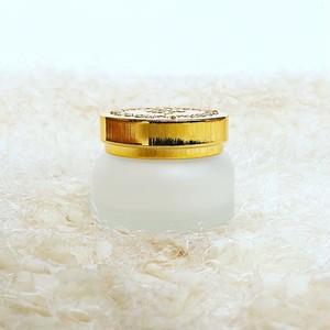 ガラス製クリーム容器50ml(ゴールド)