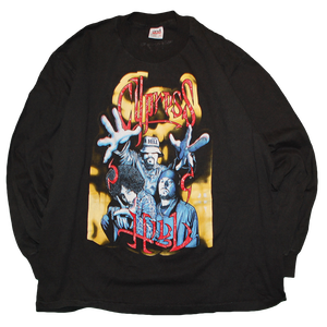 """""""Cypress Hill / Experience"""" Vintage Rap L/S Tee Used"""