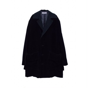 TTT MSW VELVET COAT BLACK
