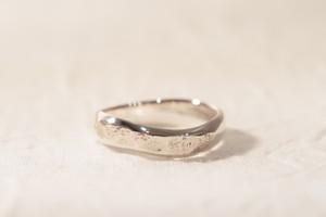【即納】10号 純銀製(Sv9999)yugami+dakon-ring