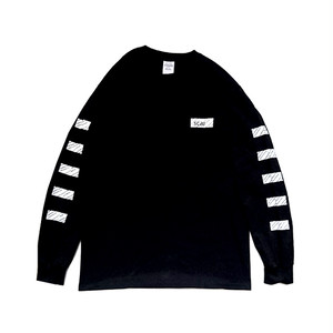 scar /////// BLACKBOX L/S TEE (Black)
