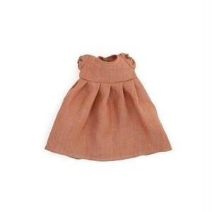 CLAY LINEN DRESS|ぬいぐるみと人形の服