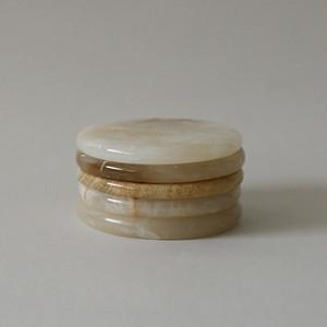Jade Coaster / トパーズ コースター アクセサリー キャンドルトレー インセンスホルダー 天然 韓国 雑貨
