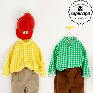 [sold out]  gingham check shirt 2Colors ギンガムチェック シャツ