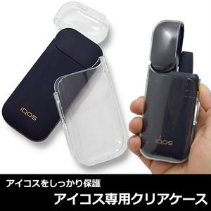 アイコス IQOS 専用ケース 透明ケース クリアケース 保護ケース カバー ハードケース ストラップ デコ