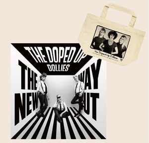 【送料無料】限定CD+トートバックセット 『THE NEW WAY OUT』THE DOPED UP DOLLIES (PLS-004/CD)