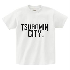 TSUBOMIN / TSUBOMIN CITY T-SHIRT WHITE