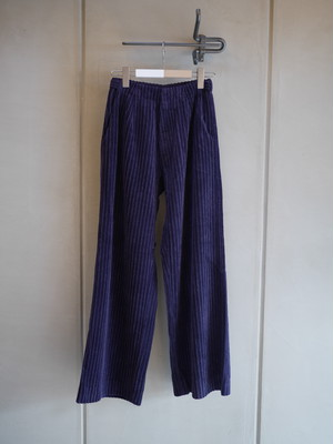 THE MERMAID / CORDUROY OVER PANTS (DEEP PURPLE)