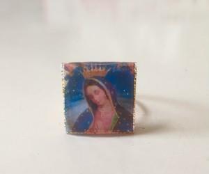 レジンの指輪  マリア様  1
