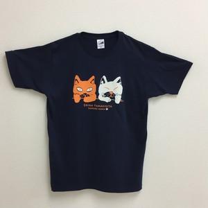 Tシャツ ネイビー L
