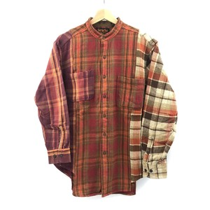 【remade】Docking Flannel Shirt