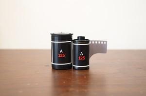 【モノクロネガフィルム 35mm】FOQUS(フォーカス)A125 35枚撮り