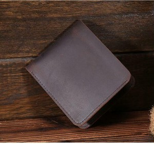 Mini Wallet Leather Wallet Small Size Card Holder Bag Small Purse Clutch Wallet ミニ レザー スリム 天然 財布 パスケース (YYB0-6063103)