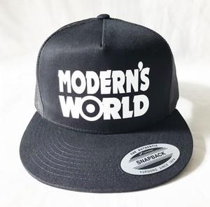 MODERN'S WORLD MESH CAP Black