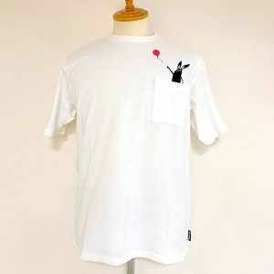 Balloon Shabby Pocket T-shirts Off White