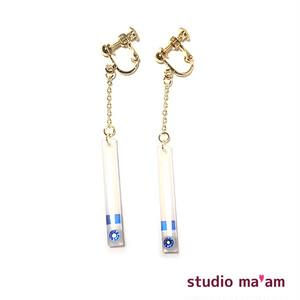 ■KASAMATSU-09 swingイヤリング 〜ピアス変更可〜