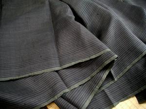 絹縦縞模様1枚布