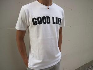 GOOD LIFE Tシャツ(white)