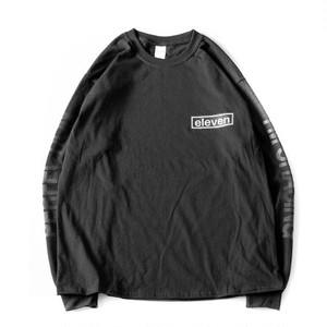ARM LOGO L/S TEE / BLACK
