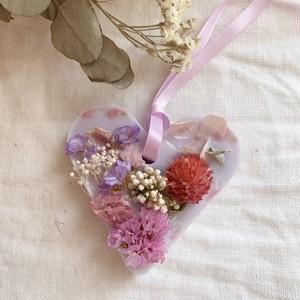 【ハートサシェ パープル】~4種類の香りから選べる~