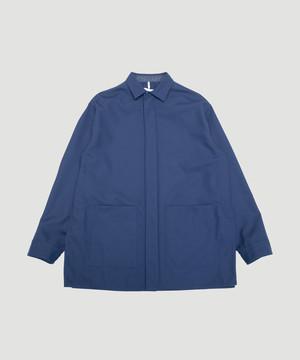 OAMC Aberdeen Shirt Wool/Poly Navy OAMP601766