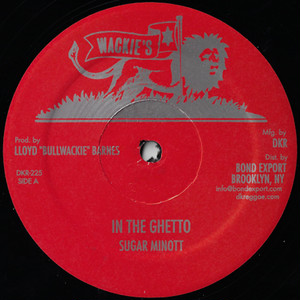 "【残りわずか/12""】Sugar Minott - In the Ghetto"