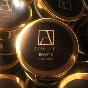 天然ワックス absolute wax BOASTⅡ hard wax(ブースト2ハードワックス) 200ml 日本初上陸の高性能カーケア製品