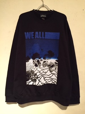 "CREWNECK BIG SWEAT ""Ver.3"" (BLACK)"