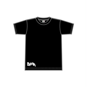 BZMR [Bottom print mono tee] Black.