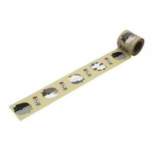 ネコだんご(45mm×5m巻)YJS-13 デザイン養生テープ
