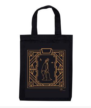 『アールデコ×琉球舞踊』 -  A4サイズシンプルバッグ