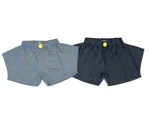 【20SS】フランキーグロウ ( frankygrow ) RHOMBOS DENIM SHORT PANTS[ S / M / L ]デニム ショート パンツ