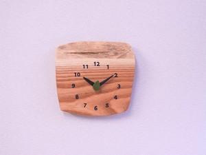 センダン 森の掛け時計