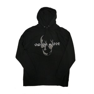 ILL IT - GLUE GUN SKULL HOODIE (BLACK) -