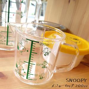 【即納】 スヌーピー 計量カップ メジャーカップ 200㏄ キッチンツール z-136-1