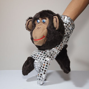 KING OF PUPPET glove puppet ゆびにんぎょう(brown)