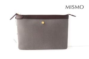 ミスモ|MISMO|クラッチバッグ|グレイ