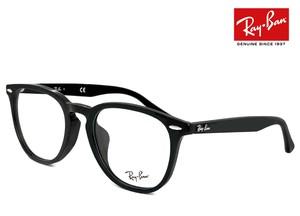 レイバン 眼鏡 メガネ Ray-Ban rx7159f 2000 52mm 丸メガネ フレーム 黒ぶち めがね メンズ レディース rb7159f ボストン