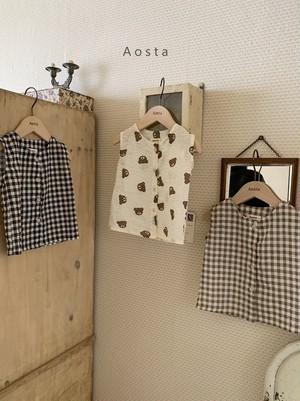 Aosta / ボンボンシャツ