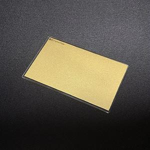 クリスタルプレート「黄金(おうごん)/ GOLD(ゴールド) 」