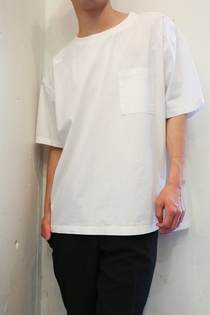 White Pocket T