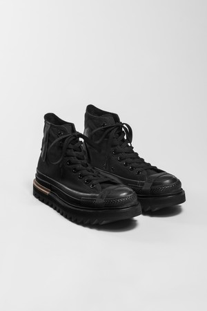 meaningless sole sneakers black