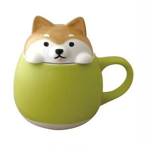 【しば】すっぽりマグ【柴犬 マグカップ 蓋付】