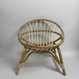 Rattan Round Chair / ラタン ラウンド チェア〈キッズチェア / ディスプレイ 〉