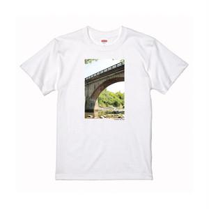 【寄付対象】【CHIKUGO百景】寄口橋Tシャツ(送料無料)