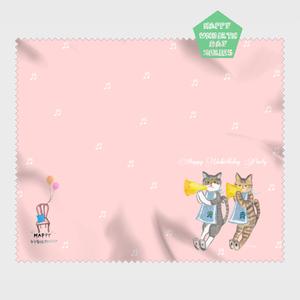 【HappyUnbirthday!ラッパの音楽隊】マイクロファイバークロス