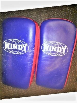 ウインディ WINDY  キックミット 2個 ベルト式【送料無料】
